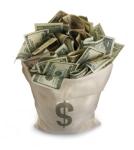 Necesitarás una pila así de dinero para hacerlo, o pedírselo directamente al dueño del banco. Buena suerte.